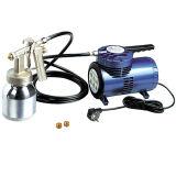 Hymair Mini Air Compressor Kit (pistola de pulverização de baixa pressão) (AS06K)