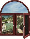Beruf-Entwurfs-Aluminiumflügelfenster-Fenster mit örtlich festgelegtem Glas