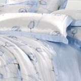 GiftとしてTaihu Snow Home Textile Silk Beautiful Flower Printed Duvet Bedding Set