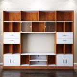 Große Kapazitäts-hölzerner Möbel Fernsehapparat-Standplatz oder Fernsehapparat-Schrank