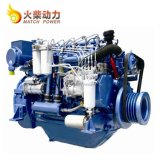 Weichai Deutz 150HP ABSが付いている海洋エンジン110kwのボートエンジン