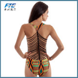 Één stuk voor het Zwempak van Swimwear van de Bikini van de Manier van Vrouwen