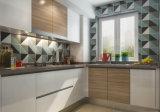 高品質によってカスタマイズされる現代木の食器棚