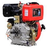 열쇠 구멍 샤프트 (HR192FB)를 가진 공기에 의하여 냉각되는 디젤 엔진