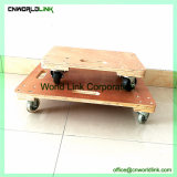 Mobile Solid Tyre Service Trolley Cart Stacking Dolly