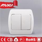 Nova Luz eléctrica de parede 2 Interruptor de Modo Pista 1