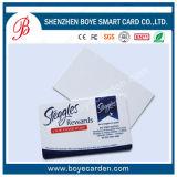 SGS aprovado o cartão de visita de plástico para o cliente