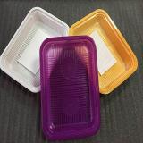 Цвета РР пластиковый лоток на деловых обедов продовольственной