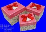 Rectángulo de regalo de papel de lujo de la cartulina para empaquetar (FLB-9337)