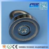 De super N52 Magneet van de Pot van de Ringen van de Oogbout van het Neodymium Cirkel