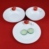 ホーム毎日の瀬戸物の陶磁器の版、食事用食器セット