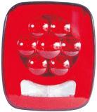"""LED 4"""" 둥근 정지 회전 테일 빛 Tl455"""