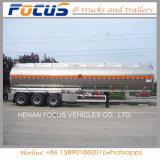 제조 판매를 위한 알루미늄 반 45m3 연료 유조선 트레일러