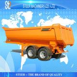 트럭 트레일러를 기울이는 다중 사용법 시멘트 수송