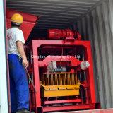 Qt4-40ジャマイカの機械を作る手動空の煉瓦機械ブロック