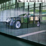 Haut de la qualité européenne P7 Affichage LED transparent