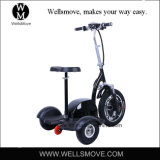 障害者のためのZappy 3プロ屈曲の電気三輪車