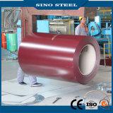 Dx51d Dx52D PPGI strich galvanisierten Stahlring vor
