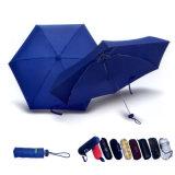 Прорезиненные Custiomized ручку ручного открытой складной зонтик