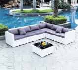 Hot Sell Outdoor Furniture Canapé de jardin en rotin / rotin