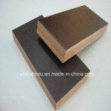 Encofrados de madera contrachapada/marinos/contrachapado de madera contrachapada resistente al agua/cemento Film de encofrado de madera contrachapada Frente para la construcción