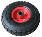 Solvently PU Foam Trolley Wheel 10X3.50-4 inches