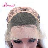 Perruque grise d'avant de lacet d'Ombre Glueless de perruques avec la perruque de cheveux humains de densité du cheveu 130% de bébé pour le cheveu de Remy de femmes de couleur
