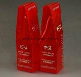 Kundenspezifisches Printed Plastic Paper Box mit PVC Window (Weinkasten)