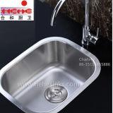 Bassin en acier inoxydable avec Cupc approuvé, évier de cuisine, évier de bar (4738)