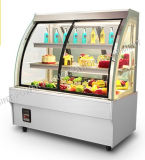 좋은 품질 상업적인 냉장고 케이크 전시 진열장