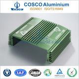 OEM Diseño de aluminio extruido de armario con mecanizado CNC