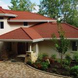 Les matériaux de toiture de l'asphalte de bitume de bardeaux de toit recouvert de carrelage en pierre