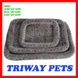 개와 고양이 (WY1610114-3A/C)를 위한 싼 부드러움과 안락 산호 우단 침대
