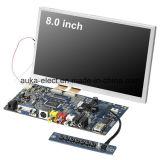 Module LCD 8 pouces avec écran tactile résistif pour poste ATM