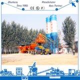 Maquinaria de construção quente mini Hzs50 da venda (50m3/h) planta de tratamento por lotes concreta