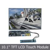 10.1 module de l'affichage à cristaux liquides SKD de pouce avec le panneau de contact 4-Wire résistif