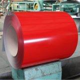 SGCC bobinas de acero recubierto de colores RAL