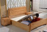 固体木のベッドの現代ベッド(M-X2831)