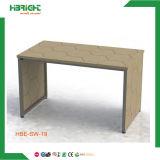 MDF 나무로 되는 소매 테이블 단화 의복 진열대 선반 선반