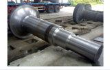 Arbre de usinage de force de turbine de vent d'acier de forge