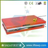 China estática da mesa de elevação em tesoura hidráulica