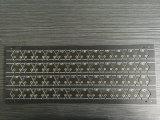 El doble echó a un lado la capa 0.8m m que el negro resiste la tarjeta de circuitos para los productos electrónicos de consumo