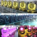 Marcação RoHS 280W 10r Efeito de platina com luz de movimentação de Robô