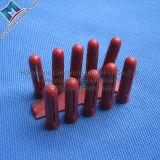 赤いプラスチック壁プラグ、プラスチックアンカー