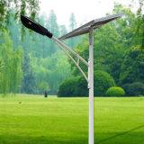 Projet gouvernemental Solar Street Light 60W Panneau solaire séparé