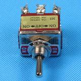 op-van-op 9 Pin Op zwaar werk berekende Toggle Switch (kn-303)
