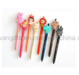 Bolígrafo de dibujos animados personalizados con Logo para publicidad bolígrafo