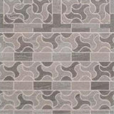 azulejo de suelo esmaltado rústico de la porcelana del color 60X60 del resbalón gris no para la sala de estar