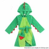 """Les garçons """" de 100%Polyester tricoté Coral Fleece Dino Robe de chambre"""