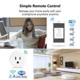 Mini WiFi Slimme Stop, de Werken met Alexa en Google Huis, de Slimme Apparaten van het Huis die APP Afstandsbediening, de Functie van de Timing en MultiBescherming steunen